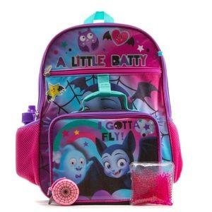 Disney Vampirina 4 Piece Backpack